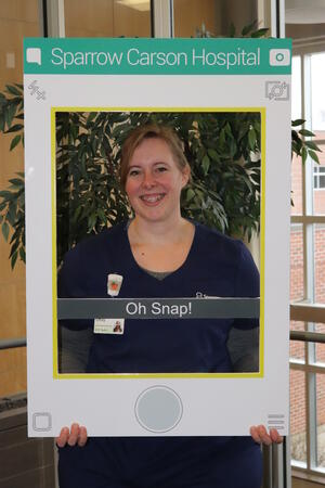 Emily Smith Caregiver of the Month