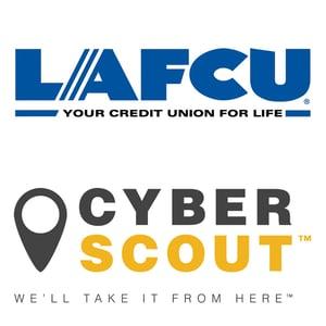 LAFCU-CyberScout logos