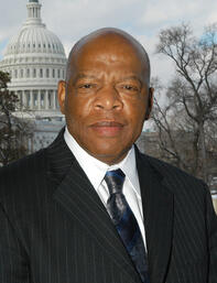 Civil rights and social justice activist John Lewis