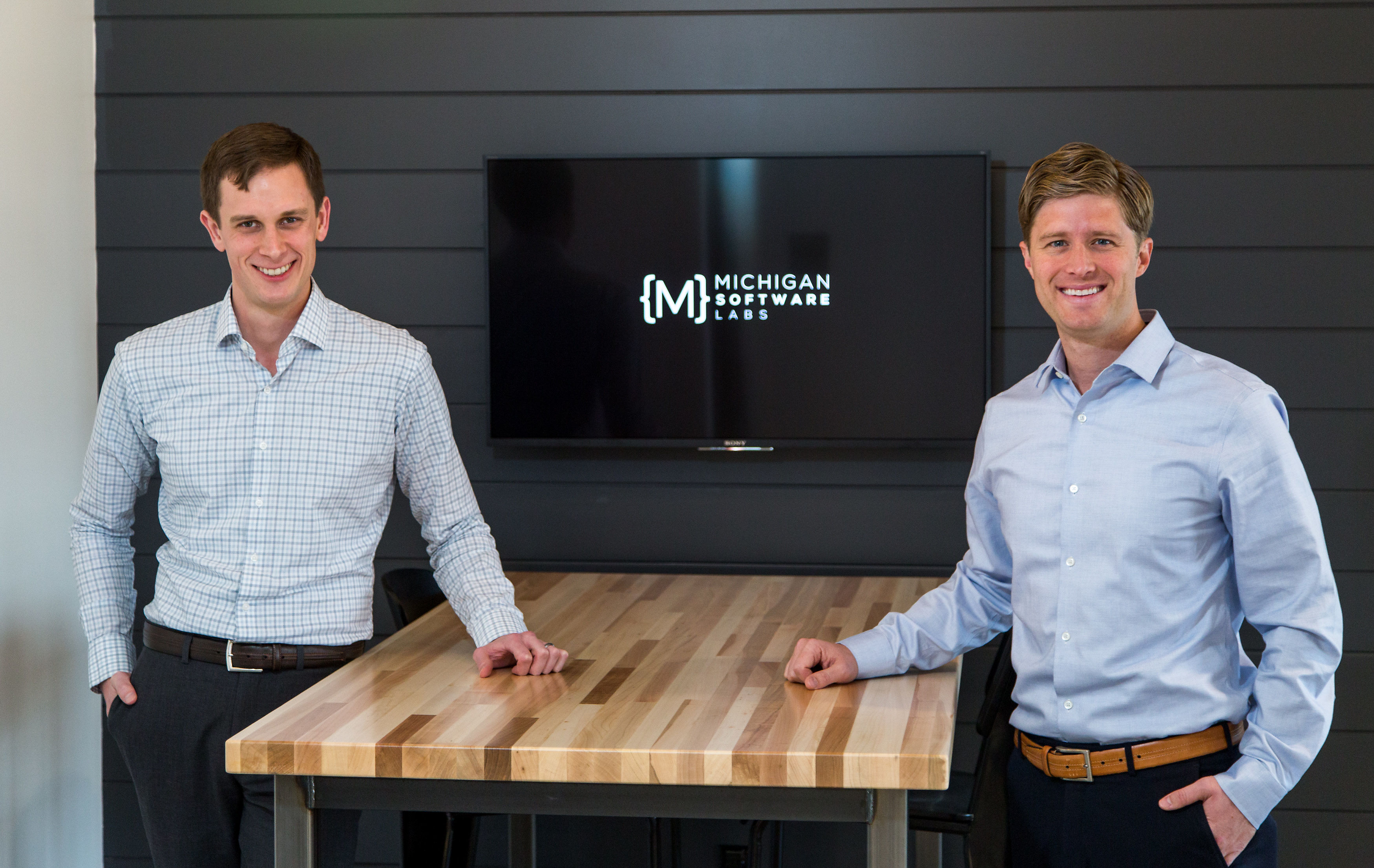 MSL co founders Josh Hulst and Mark Johnson