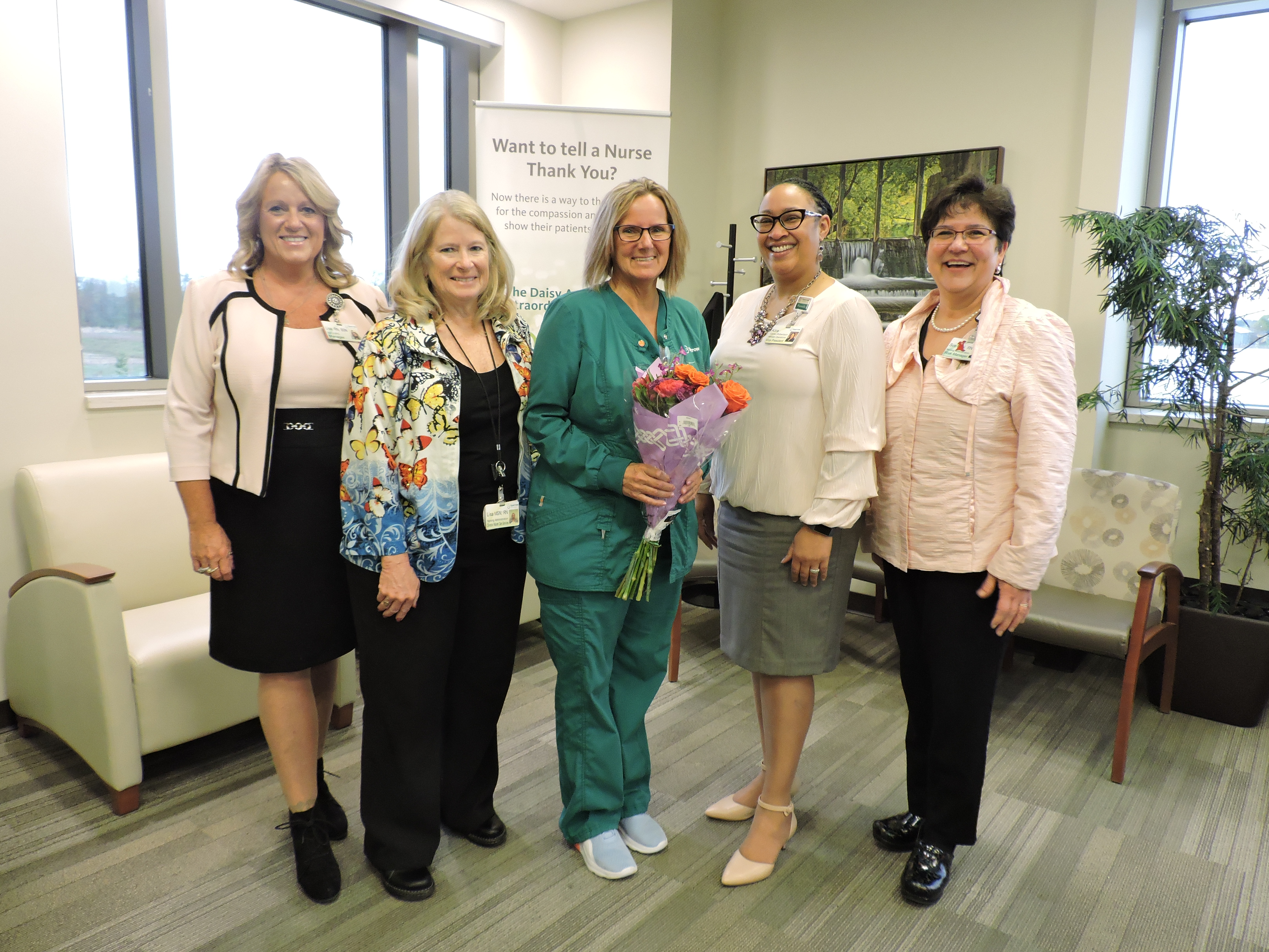 Nurse of Year 2019 Kathy Raby