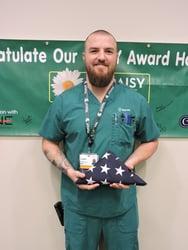 Sparrow Ionia Nurse helps veteran 1