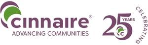 cinnaire logo_with25yr