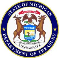Michigan Department of Treasury seal