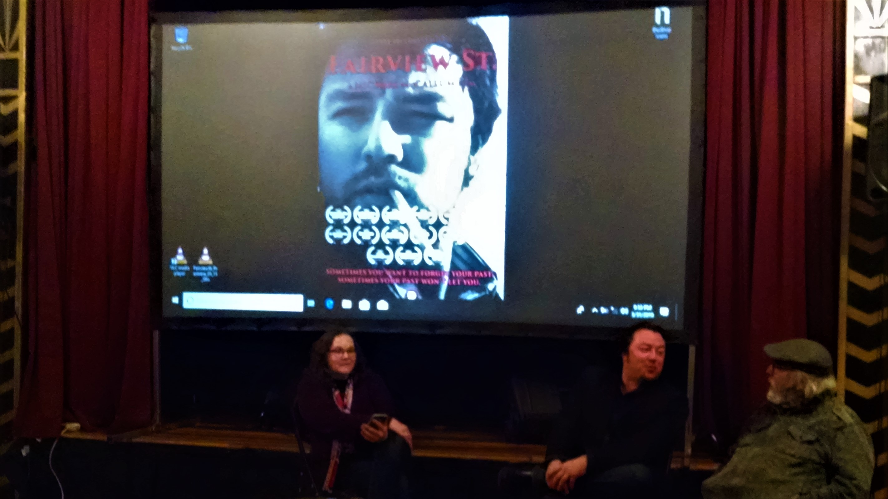 After Movie Q&A at Robin Theatre 3/31/19
