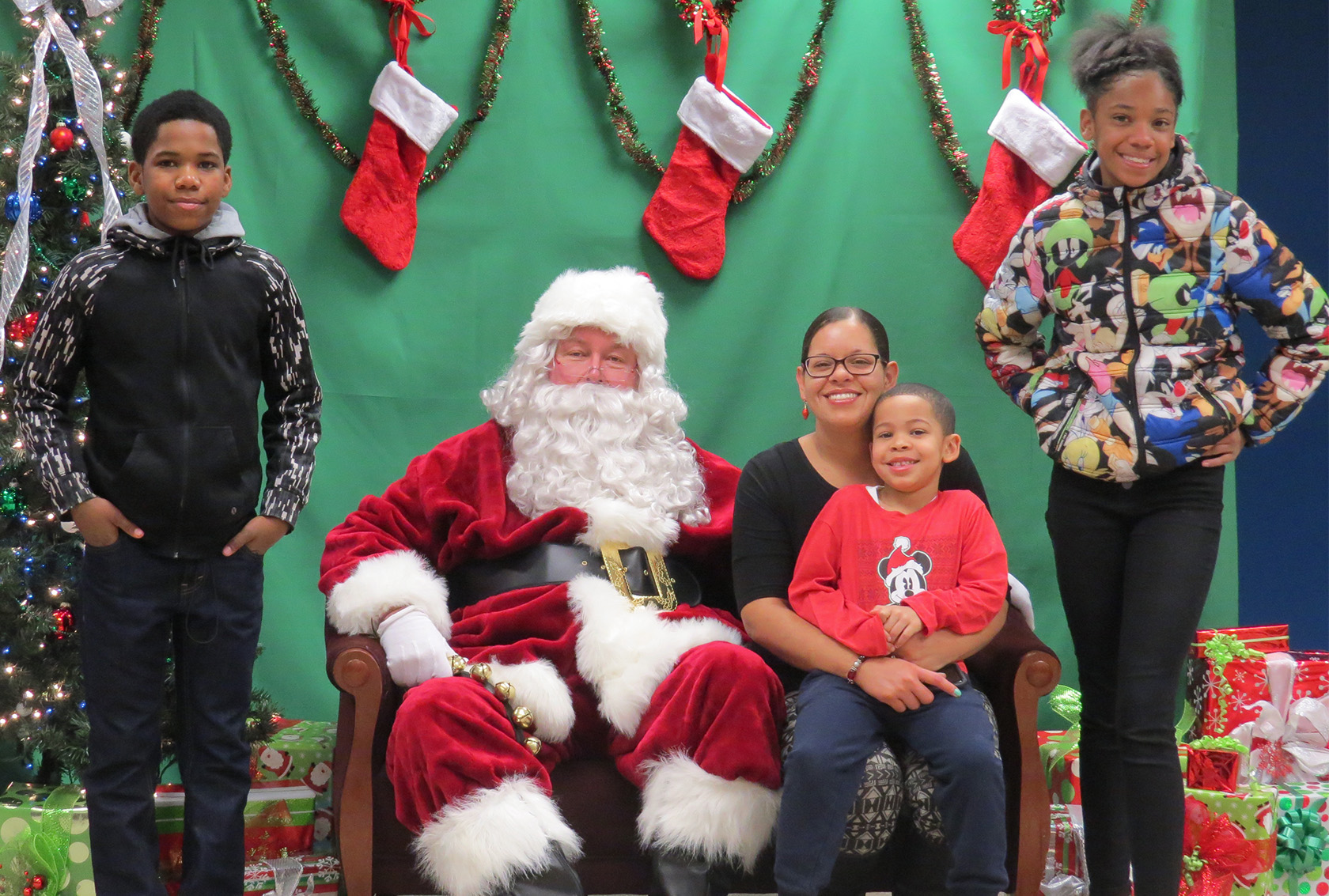 Time with Santa was important for those attending LAFCU's Breakfast with Santa.