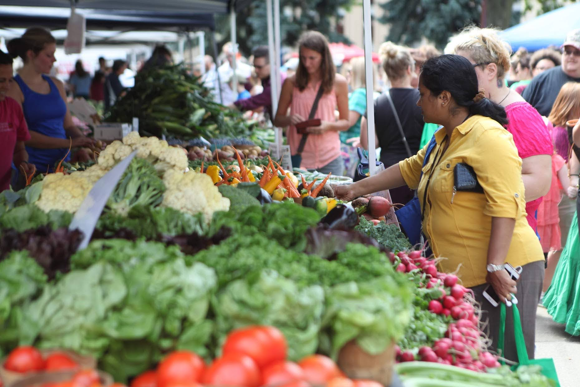 Shoppers visiting farmers markets during National Farmers Market Week can expect special events and celebrations