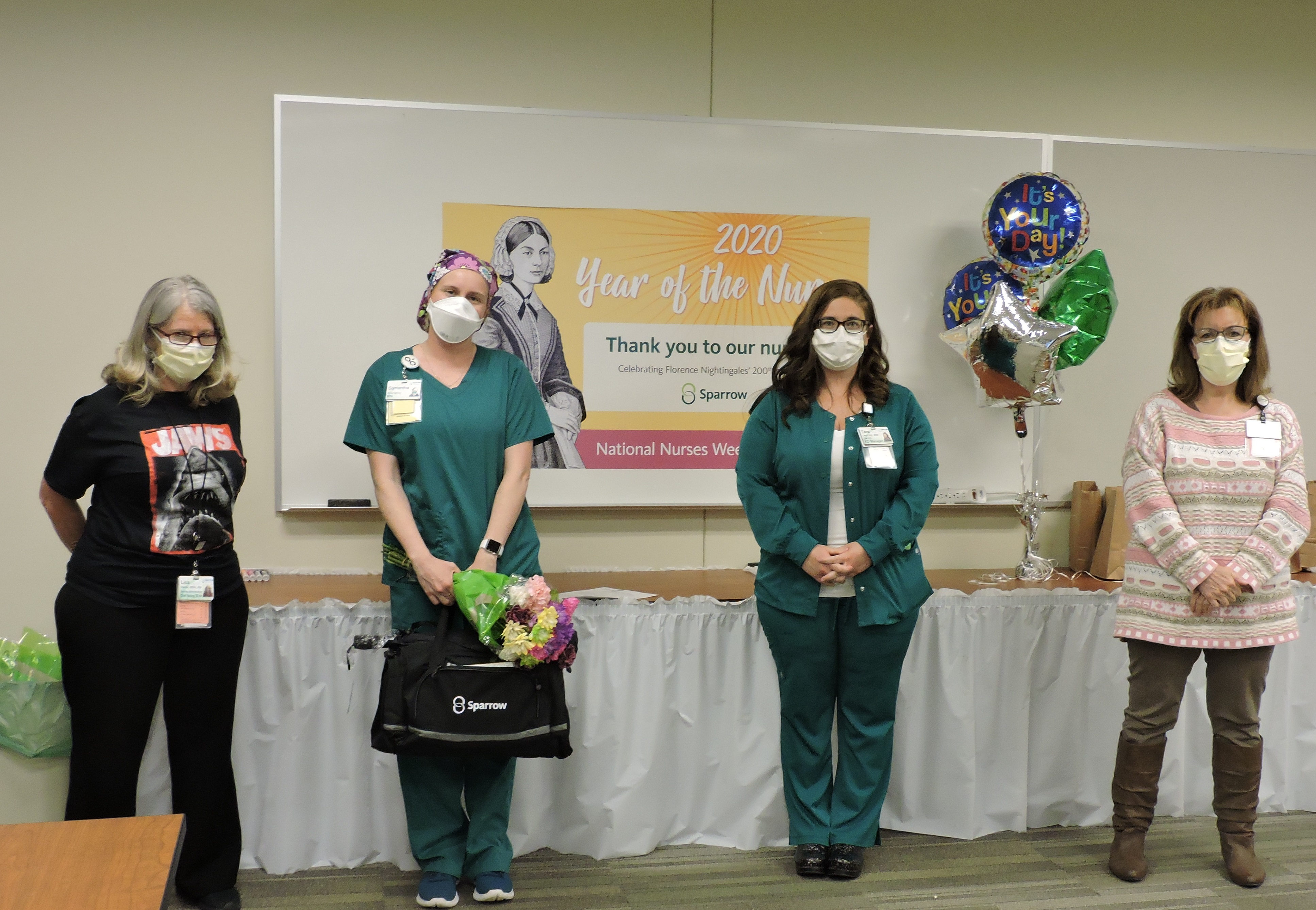 Sparrow Ionia Nurse of the Year